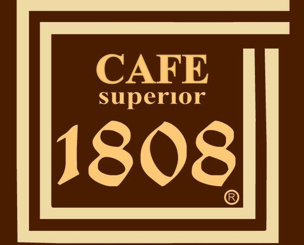 Logo 1808. logo e imagen de empresa Cafés 1808