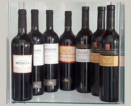 Vinos. Vinos argentinos de calidad