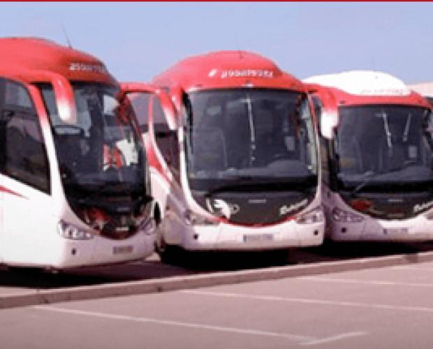 Transporte de pasajeros. Autobús de pasajeros