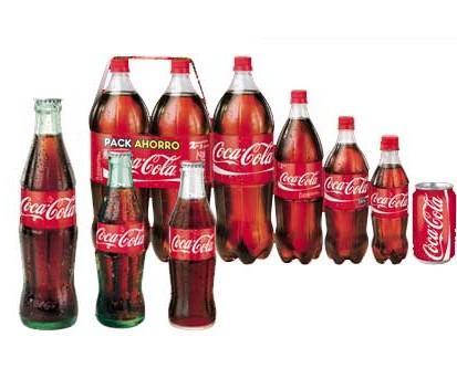Refrescos de Marcas Clásicas.Coca Cola