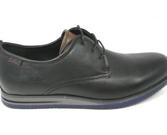Zapatos negros de hombre. Elaborado con materia prima de calidad