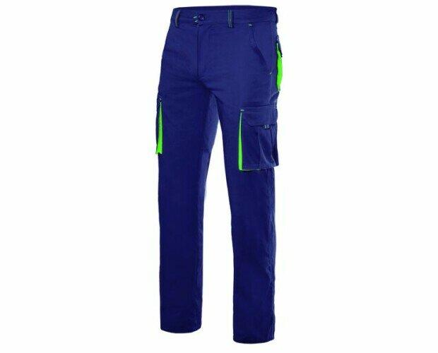 Pantalón strech bicolor. Pantalón Velilla de la mejor calidad
