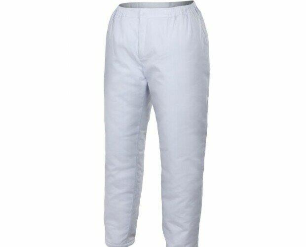 Pantalón pijama acolchado. Puños de canalé en el interior del bajo del pantalón