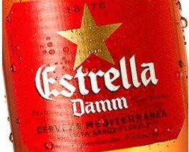 Estrella Damm. Cervezas de la marca Damm