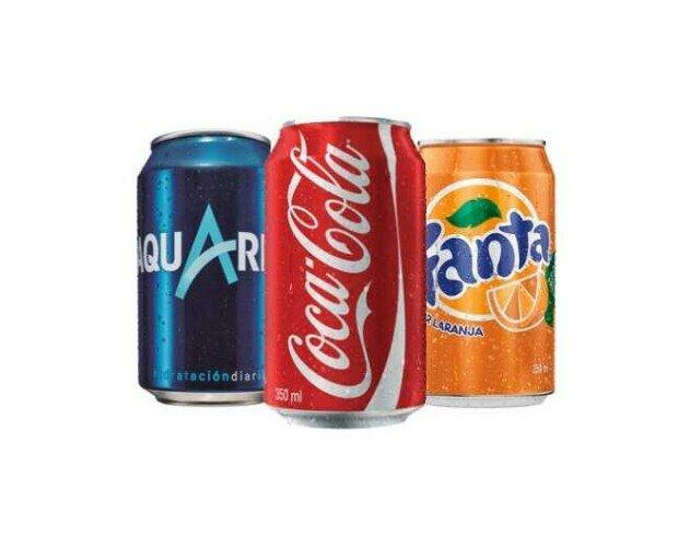 Bebidas sin alcohol. Distribuimos Coca-cola, Fanta y Aquarius