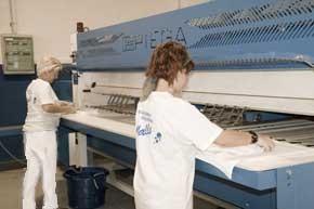 Lavandería Industrial.Lavandería industrial,20 años de experiencia