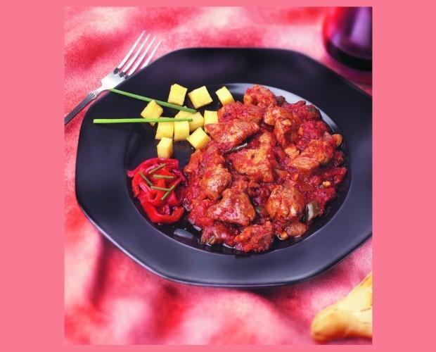 Magro de cerdo. Con delicioso sabor a tomate