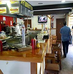 Decoración para hostelería. Restaurante de comida rápida