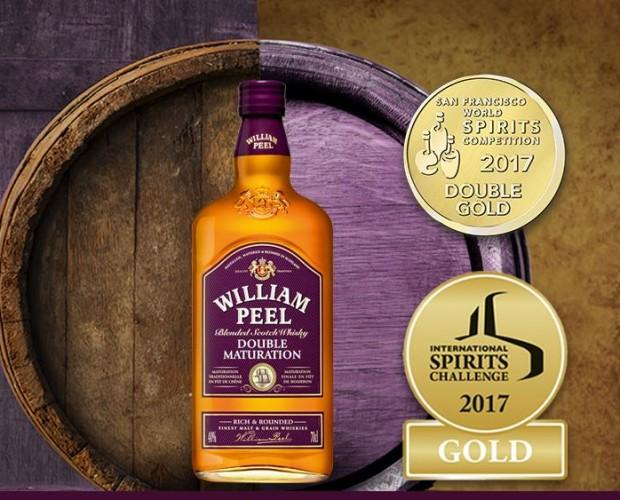 William Peel. Whisky escocés
