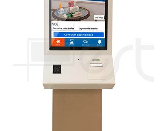 Kiosco Multimedia Autoservicio. Ayuda a ahorrar tiempo y agilizar el proceso de check-in