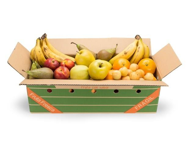 Caja Mix Variedades. Fruta para oficina