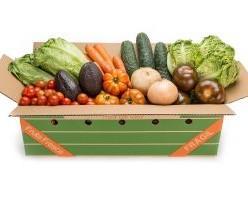 Mix de Verduras. Caja de Ensalada