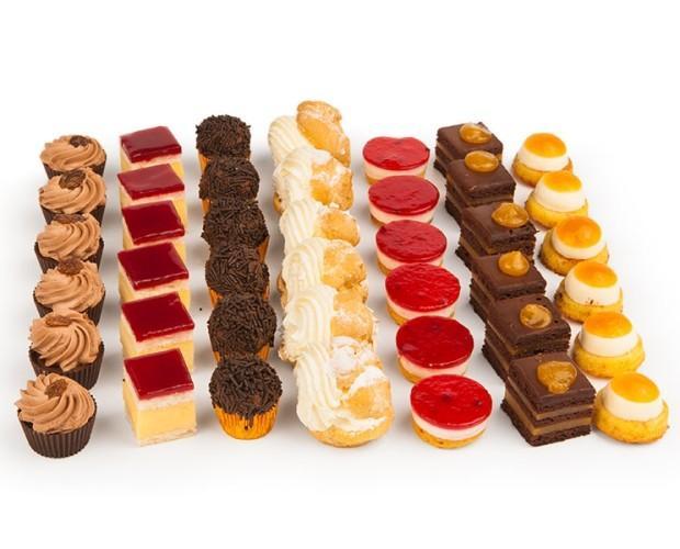 Pasteles. Gran variedad de pasteles
