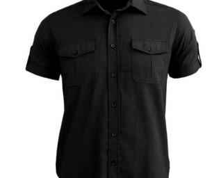 Camisa negra. Excelente para el verano