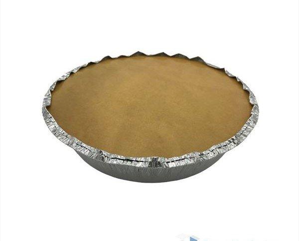 Envase de aluminio para pollo. Apto para microondas