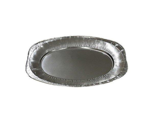 Bandeja ovalada. Apta para su uso en horno y microonda