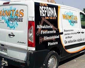 Rotulación de Vehículos.Rotulación de flotas de vehículos furgonetas camiones autobuses para empresas