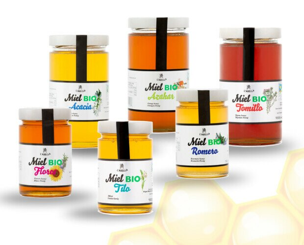MELES BIO - L'Abella. 6 Variedades de mieles BIO certificadas, 100% pura.