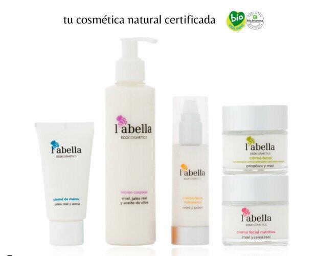 ECO Cosmétics L'Abella. Cosmética Natural certificada con ingredientes principales de la colmena