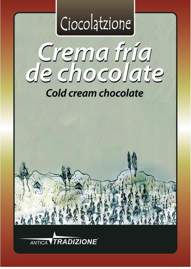 Chocolate frío. Delicioso y refrescante chocolate a la taza frío