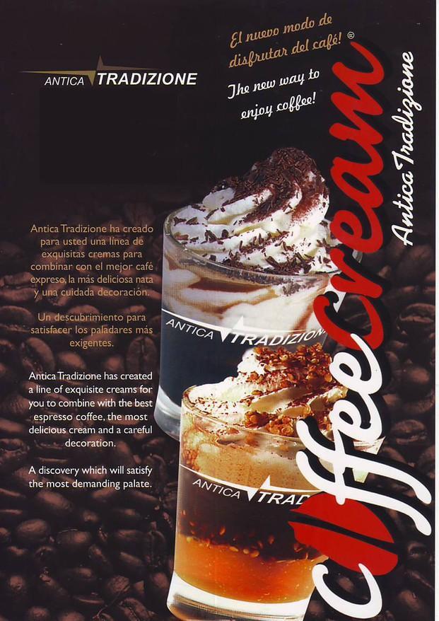 Café con crema. Una línea de cremas especiales para Expresso