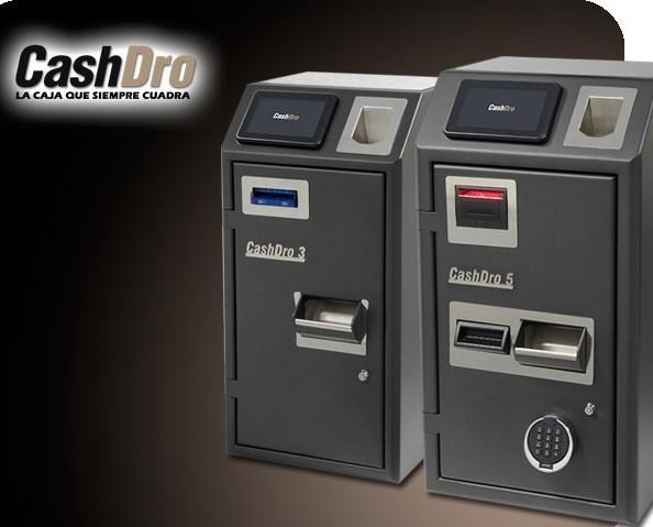 CashDro. La caja que siempre cuadra. Unica con chapa de 4mm