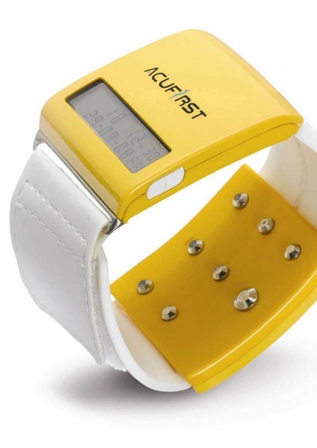 Relojes. Reloj terapia de acuopresión para dejar el tabaco