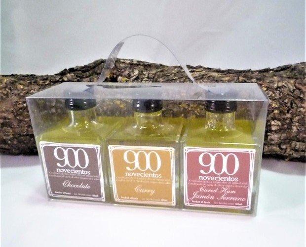 Aceite de Oliva en Monodosis. aromatizado 900