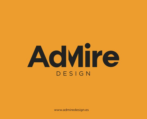 Logotipo AdMire. Logotipo AdMire Design. Portada