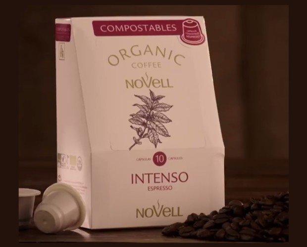 Café orgánico. Café orgánico en cápsulas compostables