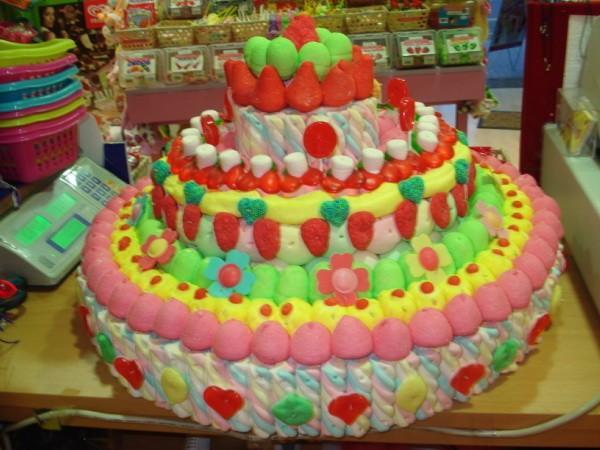 Golosinas. Golosinas, caramelos, cestas de bombones