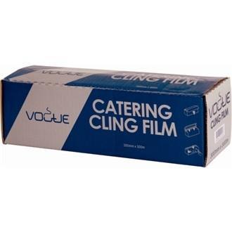 Consumibles para hostelería. Film plástico, recipientes para comida