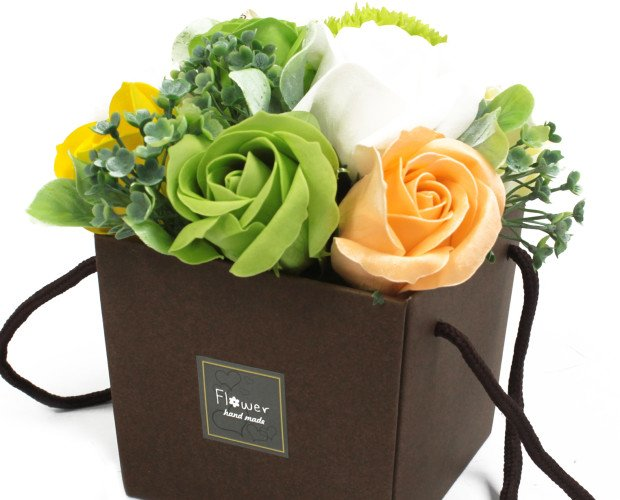 Flores de Jabón. Elemento perfecto para un baño romántico