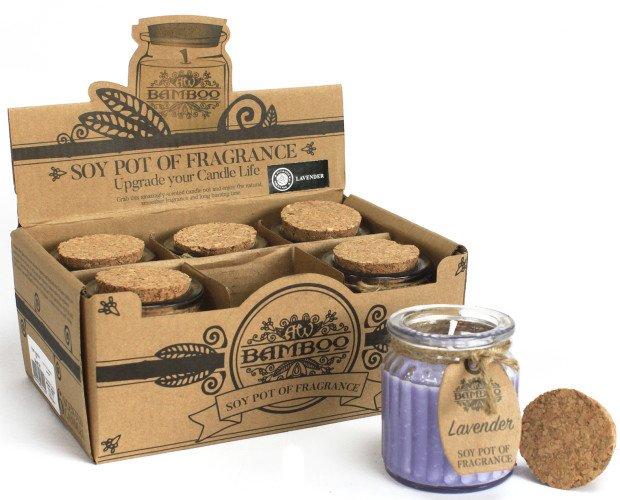 Velas de Cera Soja. Perfumadas para que puedan disfrutar de la fragancia más suave y natural.