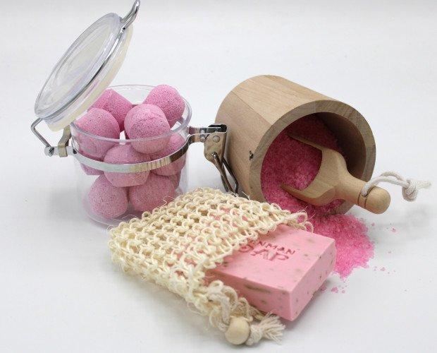 Paraíso del Baño. Productos artesanales. Bombas de Baño, jabones y sales de baño. El Regalo perfecto!