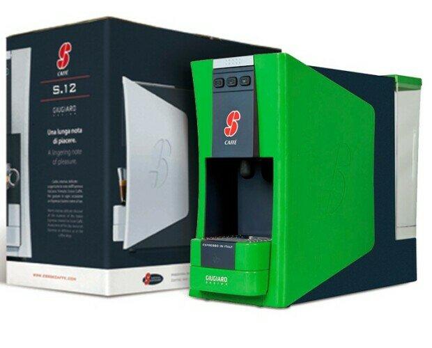 Cafetera S12 Esecafe verde. Cafetera de excelente calidad y rendimiento