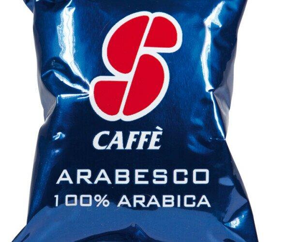 Esecafe Arabesco. Mezcla de refinados cafés de calidad Arábica.Densidad perfecta, dulce y suave.