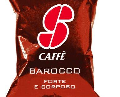 Esecafe Barocco. Mezcla de alta calidad de café Robusta, sabor redondo dado por un toque de Arábica