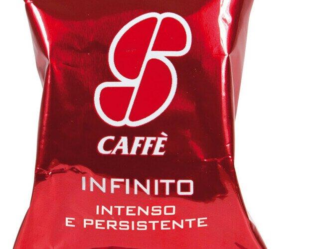 Esecafe Infinito. Mezcla de cafés de calidad Arábica y Robusta, sabor redondo, aroma a chocolate.