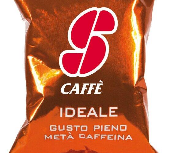 Esecafe Ideale. Mezcla cafés de exquisita calidad Arábica, Robusta y cafés descafeinado. 50% cafeína.
