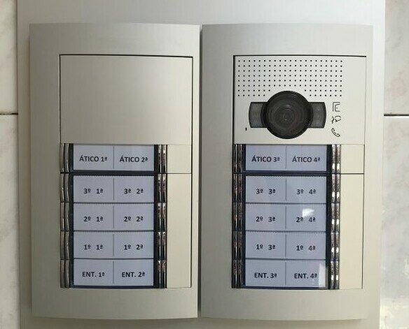 Videoportero Tegui. Instalación de porteros automáticos con video