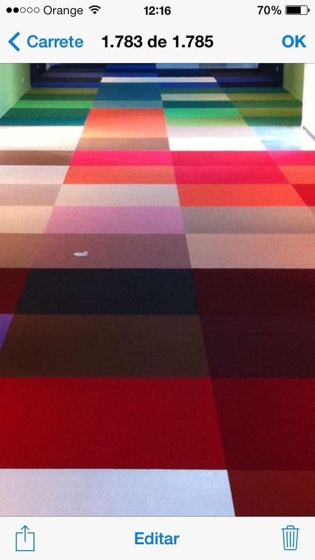 Suelos. 540 colores en damero 2*2