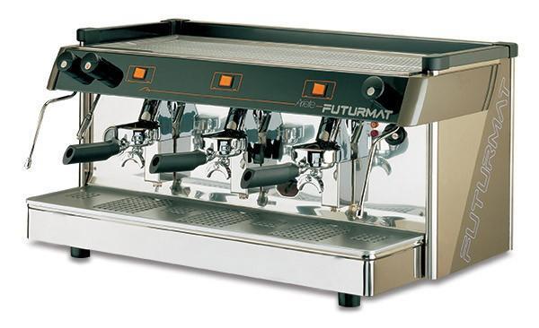 Máquina de café. Máquina de café expresso semiautomática