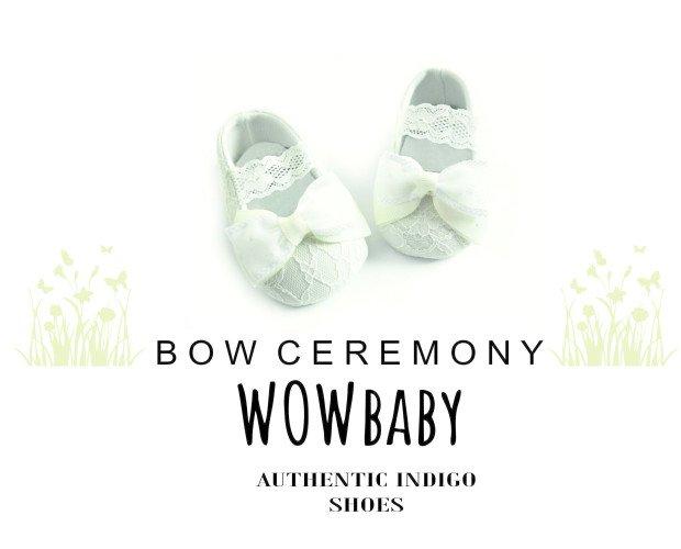 1.CALZ. CEREMONY-BOW. Calzado Ceremonia 0/3 a 18 meses