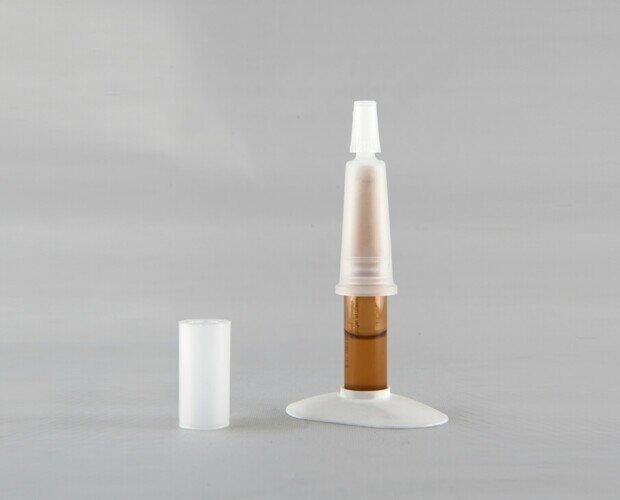 Materiales Plásticos.Peana para ampollas, varios colores disponibles.