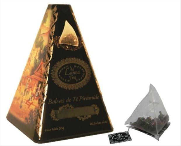 Té pirámide Gourmet
