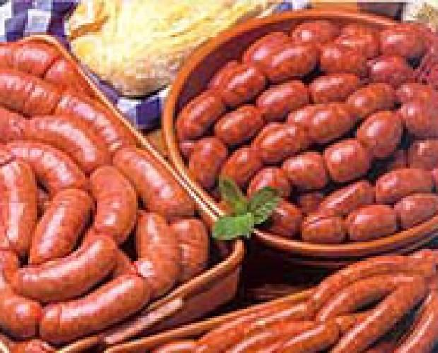 Carne. Butifarra Fresca. embutidos, fiambres, tripas