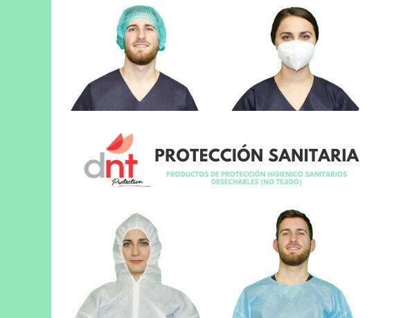 Equipamiento de Seguridad en el Trabajo.Amplia gama de productos para protección higiénico-sanitaria.