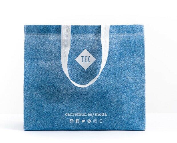 Bolsa de tela termosellada. Fabricadas con materiales 100% reciclables