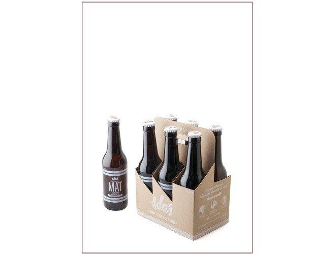 Caja 24 cervezas Mat 33cl. Procedente de la escuela cervecera alemana